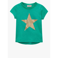 Next Jade Glitter Star Casual Top, 2-3 y