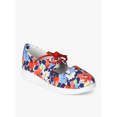 D chica Multicoloured Floral Sneakers, 27