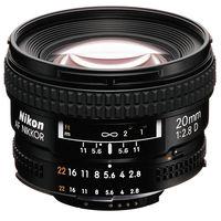 Nikon AF 20mm F2.8D Lens