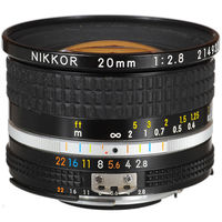 Nikon 20mm F2.8 NIKKOR AIS Lens