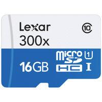 Lexar MICROSD 16GB 300X 45MB/S Memory Card