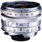 Zeiss 21mm f/4.5 C Biogon T* ZM Lens (Silver)
