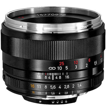 Zeiss Planar T* 50mm F/1.4 ZF. 2 Lens for Nikon F-Mount