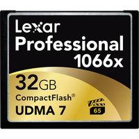 Lexar PRO CF 32GB 1066X Memory Card