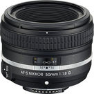 Nikon AF-S NIKKOR 50mm f/1.8G Special Edition Lens