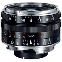 Zeiss 35mm f/2.8 C Biogon T* ZM Lens (Black)