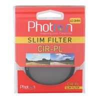 Photron CIR-PL 62mm CPL Filter, Slim