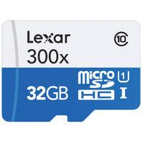 Lexar MICROSD 32GB 300X 45MB/S Memory Card
