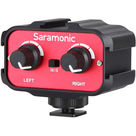 Saramonic 2-Channel Universal Audio Adapter with Stereo and Dual Mono 3.5mm Inputs for DSLRs & Camcorders