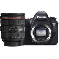 Canon EOS 6D (24-70mm F/4L IS USM) DSLR Kit