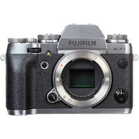 Fujifilm X-T1 (Body) Mirrorless Camera - Graphite Silver Edition