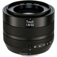 Zeiss Touit 32mm f/1.8 Lens for Fujifilm X-Mount