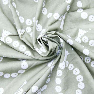 Rudraksh Timberwolf Batik Cotton
