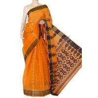Orange Bengali Tant Saree