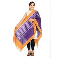 Pochamaplly or Ikat Cotton Handloom Stole
