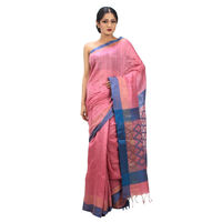 Diamond Palla Saree, Pink
