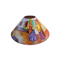 Handpainted Canvas Lamp Shade