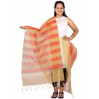 Red Net and Gicha Dupatta
