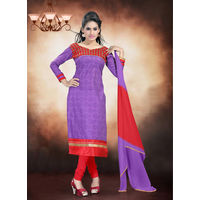 Lavender Salwar Suit