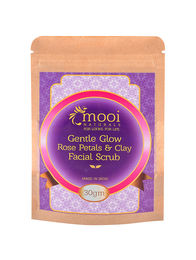 Gentle Glow Rose Petals & Clay Facial Scrub, 30g