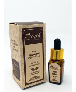 Pure Lemongrass Essential Oil, 10 ml