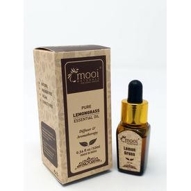 Pure Lemongrass Essential Oil, 10 ml
