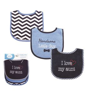 I Love Drooler Bib 3pk, baby neutral