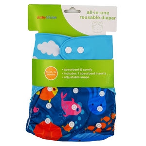 BabyVision - All In One Printed SEA Diaper Pack, baby girl