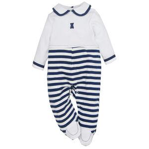 Cotton Sleepsuit, baby boy