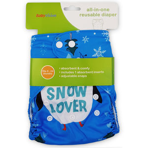 BabyVision - All In One Printed SNOW Diaper Pack, baby boy