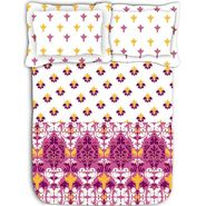 Ambi printed luxury cotton bed sheet
