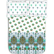 Ambi printed luxury cotton bed sheet