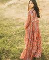 Sagaa Tiered Dress