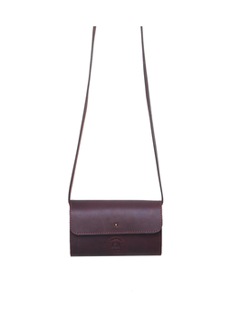Cord Pocket Sling - Cherry, red
