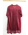 Twofold Mulberry Dress