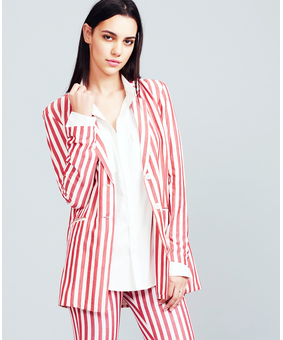 Summation Candy Cane Blazer, red, xl