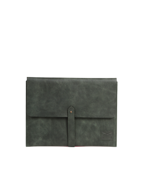 Brandless Laptop Folio, green