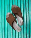Sevdah Overlap Toe Sandals