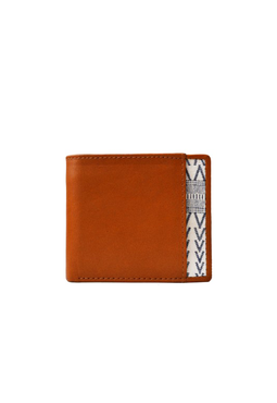 Cord Bi-Fold Wallet, brown