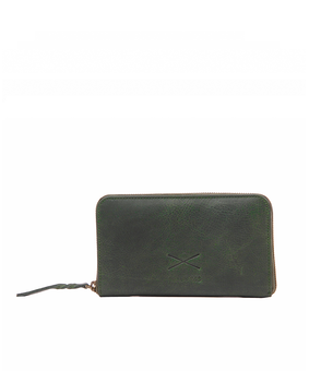Brandless Essential Wallet, green