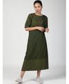 Three Olive Wrap Dress