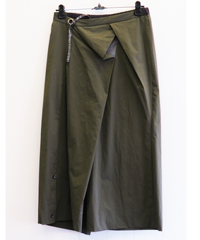 Whim Military Culottes, green, free size