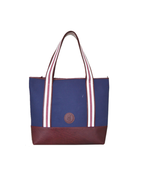 Cord Travel Tote, blue