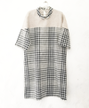 TPP Checked Anti-fit Dress