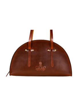 Cord Hemicycle Bag, brown