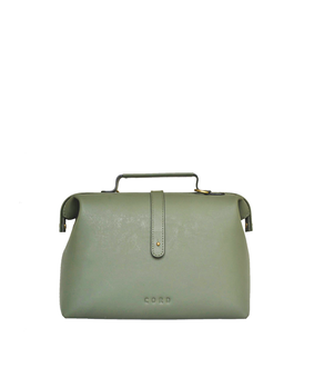 Cord Mini Doctor Bag, green