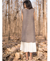 Alterego Checkered Flared Dress