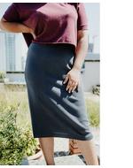 No Nasties Walker Skirt, grey, s
