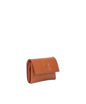 Brandless Card Holder, brown