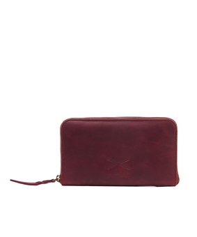 Brandless Essential Wallet, red